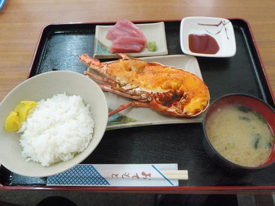 イセエビウニ焼き定食.JPG